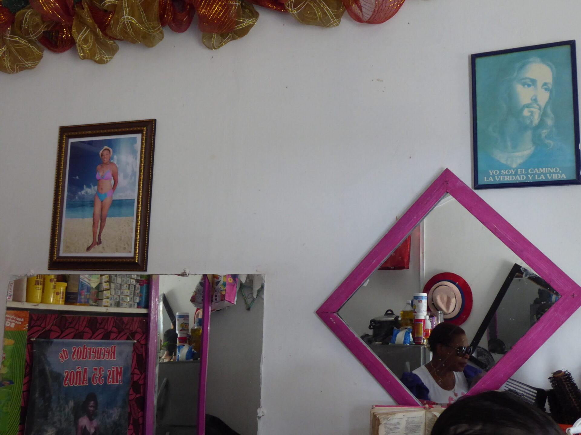 Sala de belleza 'Nayibe' en Guapi